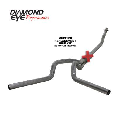 EXHAUST - EXHAUST KITS - Diamond Eye Performance - Diamond Eye Performance 1994-2002 DODGE 5.9L CUMMINS 2500/3500 (ALL CAB AND BED LENGTHS)-4in. 409 STAINL K4214S-RP