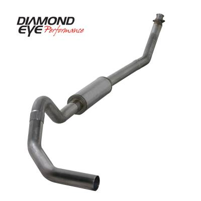 EXHAUST - EXHAUST KITS - Diamond Eye Performance - Diamond Eye Performance 1994-2002 DODGE 5.9L CUMMINS 2500/3500 (ALL CAB AND BED LENGTHS)-4in. 409 STAINL K4212S