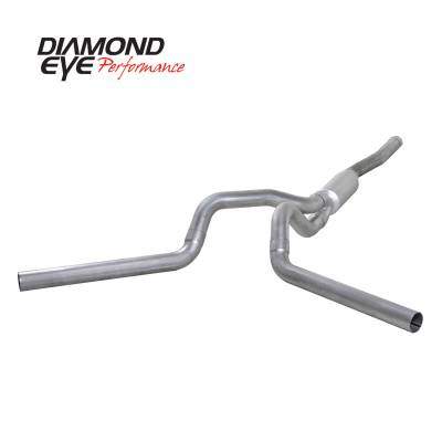 PERFORMANCE - EXHAUST - Diamond Eye Performance - Diamond Eye Performance 2006-2007.5 CHEVY/GMC 6.6L DURAMAX 2500/3500 (ALL CAB AND BED LENGTHS) 4in. ALUM K4124A