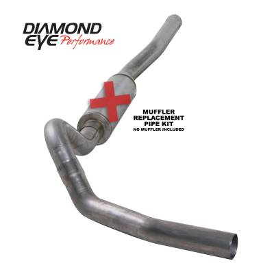 PERFORMANCE - EXHAUST - Diamond Eye Performance - Diamond Eye Performance 2006-2007.5 CHEVY/GMC 6.6L DURAMAX 2500/3500 (ALL CAB AND BED LENGTHS) 4in. 409 K4122S-RP