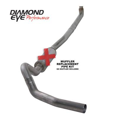 PERFORMANCE - EXHAUST - Diamond Eye Performance - Diamond Eye Performance 2001-2007.5 CHEVY/GMC 6.6L DURAMAX 2500/3500 (ALL CAB AND BED LENGTHS)-4in. 409 K4114S-RP