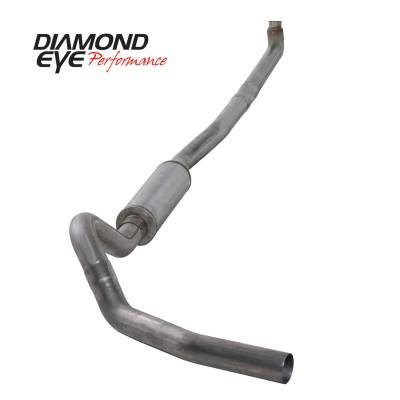 PERFORMANCE - EXHAUST - Diamond Eye Performance - Diamond Eye Performance 2001-2007.5 CHEVY/GMC 6.6L DURAMAX 2500/3500 (ALL CAB AND BED LENGTHS)-4in. 409 K4114S