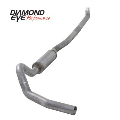 EXHAUST - EXHAUST KITS - Diamond Eye Performance - Diamond Eye Performance 2001-2007.5 CHEVY/GMC 6.6L DURAMAX 2500/3500 (ALL CAB AND BED LENGTHS)-4in. ALUM K4114A