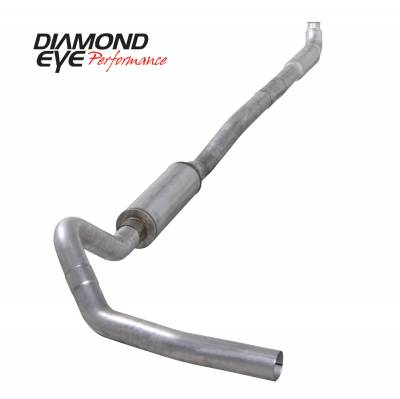 PERFORMANCE - EXHAUST - Diamond Eye Performance - Diamond Eye Performance 2001-2007.5 CHEVY/GMC 6.6L DURAMAX 2500/3500 (ALL CAB AND BED LENGTHS)-4in. ALUM K4113A