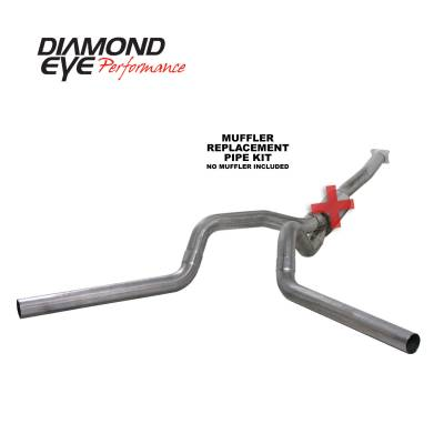 EXHAUST - EXHAUST KITS - Diamond Eye Performance - Diamond Eye Performance 2001-2005 CHEVY/GMC 6.6L DURAMAX 2500/3500 (ALL CAB AND BED LENGTHS)-4in. 409 ST K4112S-RP