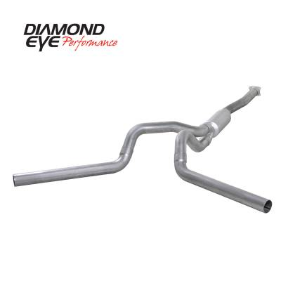 EXHAUST - EXHAUST KITS - Diamond Eye Performance - Diamond Eye Performance 2001-2005 CHEVY/GMC 6.6L DURAMAX 2500/3500 (ALL CAB AND BED LENGTHS)-4in. ALUMIN K4112A