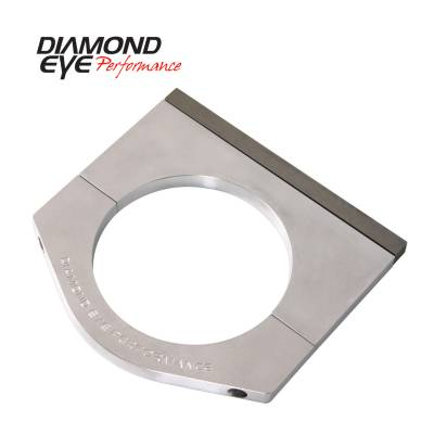 EXHAUST - EXHAUST CLAMPS - Diamond Eye Performance - Diamond Eye Performance PERFORMANCE DIESEL EXHAUST PART-6in. MACHINED ALUMINUM STACK CLAMP 446006