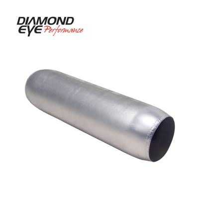 EXHAUST - EXHAUST MISCELLANEOUS - Diamond Eye Performance - Diamond Eye Performance PERFORMANCE DIESEL EXHAUST PART-4in. ALUMINIZED PERFORMANCE QUIET TONE RESONATOR 400400