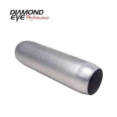 EXHAUST - EXHAUST MISCELLANEOUS - Diamond Eye Performance - Diamond Eye Performance PERFORMANCE DIESEL EXHAUST PART-4in. ALUMINIZED PERFORMANCE QUIET TONE RESONATOR 400400
