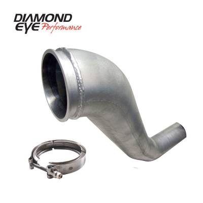 EXHAUST - DOWN PIPE - Diamond Eye Performance - Diamond Eye Performance 1994-2002 DODGE 5.9L CUMMINS 2500/3500 (ALL CAB AND BED LENGTHS)-PERFORMANCE DIE 221043