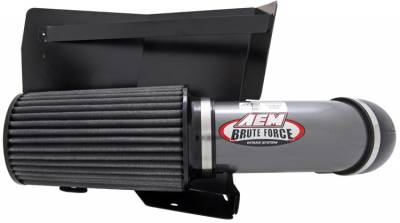 AIR INTAKES - AIR INTAKE KITS - AEM Induction - AEM Induction AEM Brute Force Intake System 21-8204DC