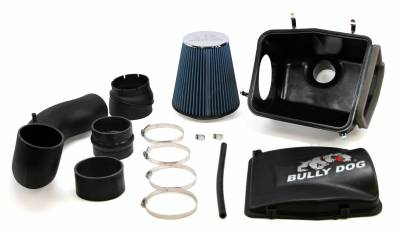 AIR INTAKES - AIR INTAKE KITS - Bully Dog - Bully Dog Rapid Flow Intake, enclosed, injection molded, stage 2 53252