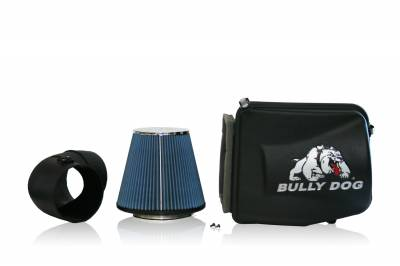 AIR INTAKES - AIR INTAKE KITS - Bully Dog - Bully Dog Rapid Flow Intake, enclosed, Molded XLPE, Enclosure and MAF tube 53102