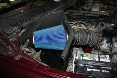 AIR INTAKES - AIR INTAKE KITS - Bully Dog - Bully Dog Rapid Flow Intake, open, powder coated steel 52100