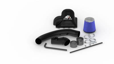 AIR INTAKES - AIR INTAKE KITS - Bully Dog - Bully Dog Rapid Flow Intake, enclosed, Molded XLPE, Stage 2 51204