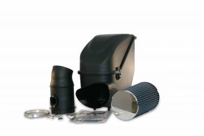AIR INTAKES - AIR INTAKE KITS - Bully Dog - Bully Dog Rapid Flow Intake, enclosed, Molded XLPE, Enclosure and MAF tube 51103