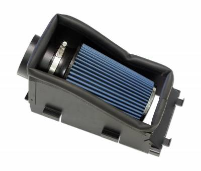 AIR INTAKES - AIR INTAKE KITS - Bully Dog - Bully Dog Rapid Flow Intake, Open, Powder Coated Steel 221103