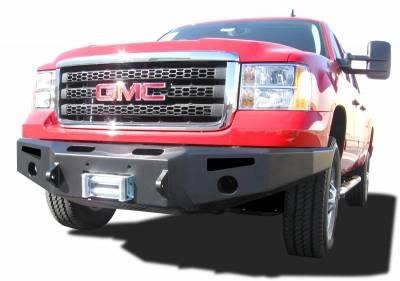 EXTERIOR ACCESSORIES - BUMPERS - Innovative Creations Inc - Innovative Creations Inc SIERRA HD w/o lights FBM24CHN