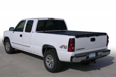 EXTERIOR ACCESSORIES - BED CAPS - Access Cover - Access Cover New Body Full Size 2500; 3500 8ft. Bed (w or w/o cargo rails) (includes dually) 62299