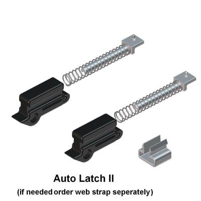 EXTERIOR ACCESSORIES - BED CAPS - Access Cover - Access Cover Auto Latch Replacement Kit; replaces existing single rear bar latch or converts 30950