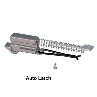 EXTERIOR ACCESSORIES - BED CAPS - Access Cover - Access Cover Auto Latch II Replacement Kit; replaces existing dual latches or vonverts single 71009