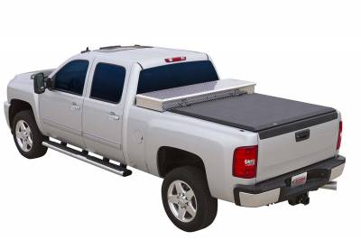 EXTERIOR ACCESSORIES - BED CAPS - Access Cover - Access Cover Super Duty 250; 350; 450 8ft. Bed (includes dually) 41349