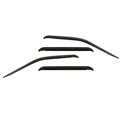 EXTERIOR ACCESSORIES - WIND DEFLECTORS - Westin - Westin SLIM WIND DFLCTR 4PC 72-37414