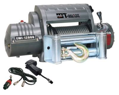EXTERIOR ACCESSORIES - WINCHES & WINCH ACCESSORIES - Westin - Westin EWI12000 OUTBACK WINCH 47-1612