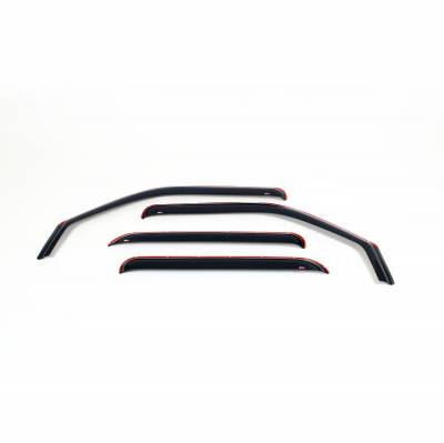EXTERIOR ACCESSORIES - WIND DEFLECTORS - Westin - Westin IN-CHANL WIND DFLCTR 4PC 72-39405