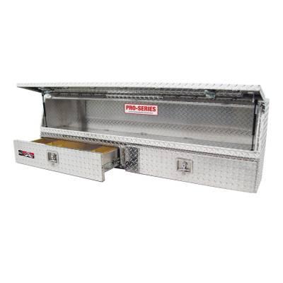 EXTERIOR ACCESSORIES - TOOL BOXES - Westin - Westin BRTBX CONTRACTOR TOPSIDER 80-TBS200-96D-BD