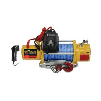 EXTERIOR ACCESSORIES - WINCHES & WINCH ACCESSORIES - Westin - Westin 9500 lb. 6.6HP 12v Winch; Synthetic Rope; Wireless Remote Control 47-1895