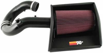 AIR INTAKES - AIR INTAKE KITS - K&N - K&N Performance Intake Kit 77-3063KTK