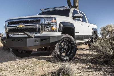 EXTERIOR ACCESSORIES - GRILLE GUARDS - Innovative Creations Inc - Innovative Creations Inc SILVERADO LD W/ RT-SERIES LIGHT BAR W/O LIGHTS FBM61CHN-RT
