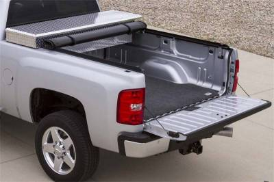 EXTERIOR ACCESSORIES - BED CAPS - Access Cover - Access Cover Dakota Crew Cab 5ft. 4in. bed (w/utility rail) 44209