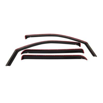 EXTERIOR ACCESSORIES - WIND DEFLECTORS - Westin - Westin IN-CHANL WIND DFLCTR 4PC 72-37497