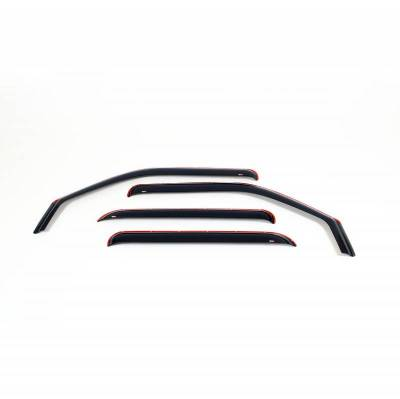 EXTERIOR ACCESSORIES - WIND DEFLECTORS - Westin - Westin IN-CHANL WIND DFLCTR 4PC 72-35489