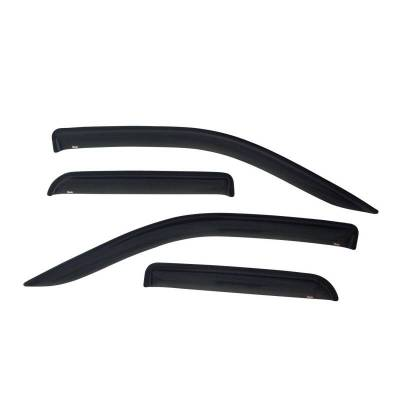 EXTERIOR ACCESSORIES - WIND DEFLECTORS - Westin - Westin SLIM WIND DFLCTR 4PC 72-31480