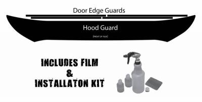 Husky Liners Hood and Door Edge Pre-cut Paint Protection Film Plus Installation Kit 06989