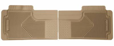 Husky Liners - Husky Liners 2nd Or 3rd Seat Floor Mats 52013