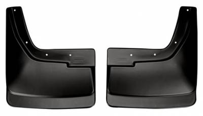 EXTERIOR ACCESSORIES - MUD FLAPS - Husky Liners - Husky Liners Rear Mud Guards 57051