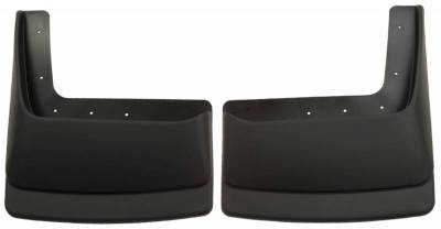 EXTERIOR ACCESSORIES - MUD FLAPS - Husky Liners - Husky Liners Dually Rear Mud Guards 57071