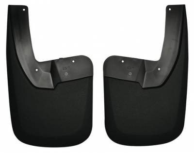 EXTERIOR ACCESSORIES - MUD FLAPS - Husky Liners - Husky Liners Rear Mud Guards 57161