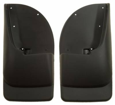 EXTERIOR ACCESSORIES - MUD FLAPS - Husky Liners - Husky Liners Rear Mud Guards 57401
