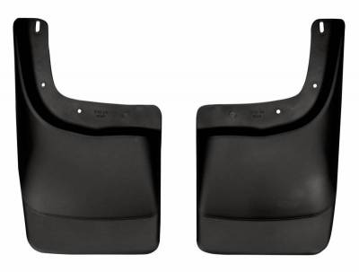 EXTERIOR ACCESSORIES - MUD FLAPS - Husky Liners - Husky Liners Rear Mud Guards 57411