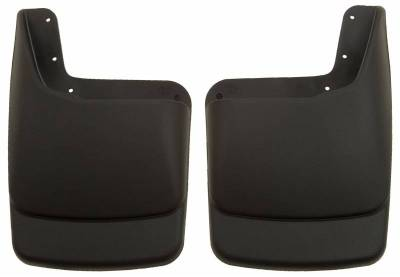 EXTERIOR ACCESSORIES - MUD FLAPS - Husky Liners - Husky Liners Rear Mud Guards 57581