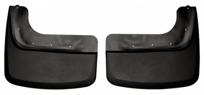 EXTERIOR ACCESSORIES - MUD FLAPS - Husky Liners - Husky Liners Dually Rear Mud Guards 57641