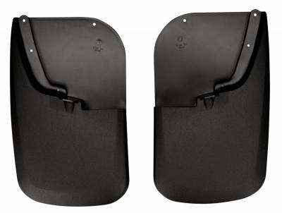 EXTERIOR ACCESSORIES - MUD FLAPS - Husky Liners - Husky Liners Rear Mud Guards 57681