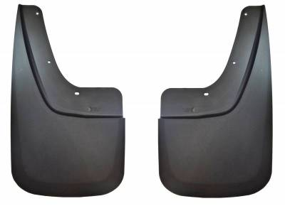 EXTERIOR ACCESSORIES - MUD FLAPS - Husky Liners - Husky Liners Rear Mud Guards 57891