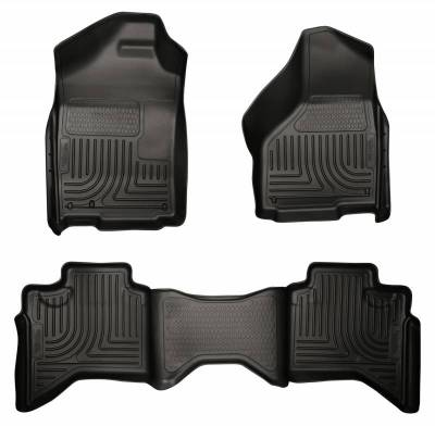 INTERIOR ACCESSORIES - FLOOR MATS - Husky Liners - Husky Liners Front and 2nd Seat Floor Liners 98031
