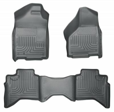 INTERIOR ACCESSORIES - FLOOR MATS - Husky Liners - Husky Liners Front and 2nd Seat Floor Liners 98032